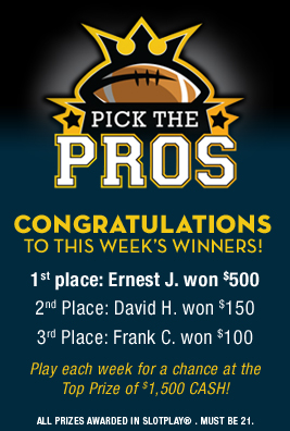 Pick the Pros Winners