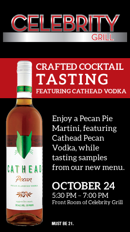 Crafted Cocktail Tasting