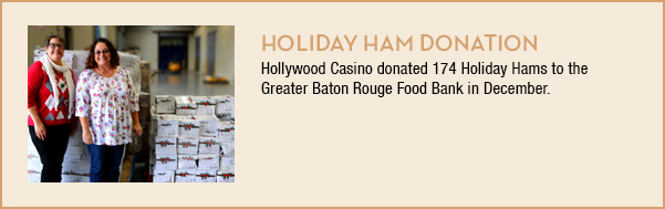 Holiday Ham Donation