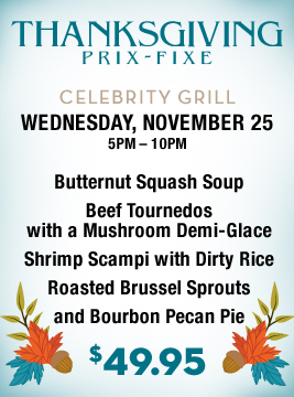 Thanksgiving Prix Fixe
