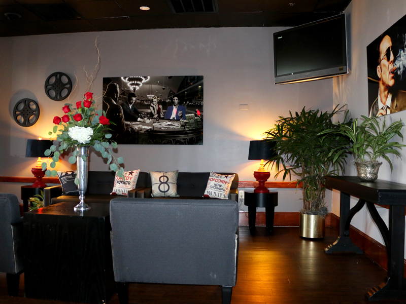 The newly renovated Producer's Lounge